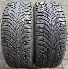 2 Winterreifen Michelin Alpin A4  215/55 R16 93H RA1107