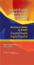 Spanish-English English-Spanish Pocket Medical Dictionary : Diccionario...