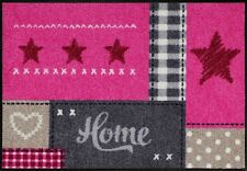 Fußmatte Design / Fußmatte Salonloewe SLD 1299 / Fussmatte Herzen Sterne Pink