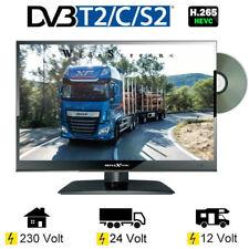 "Reflexion LDD167 15,6"" LED Fernseher DVD DVB-S/S2 -C -T/T2 230 / 12  / 24 Volt"