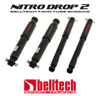 "73-87 Chevy//GMC C10 Nitro Drop 2 Front//Rear Shocks for 2-5/""F /& 4-7/"" Rear Drop"