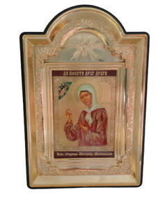 Christianity Orthodox Icon Matrona Of Moscow Матрона Московская