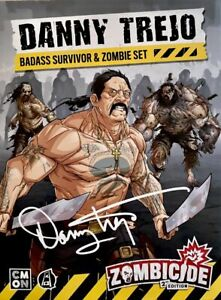 Zombicide 2nd Edition Danny Trejo Survivor & Zombie Set Kickstarter Exclusive