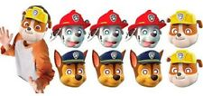 Paw Patrol Party Masks 8 Pieces