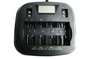 Akku Ladegerät Universalladegerät für Akkus AA AAA Baby Mono C D 9V Block USB