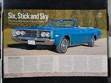 1968 Mercury Montego MX - 6 Page Article - Free Shipping