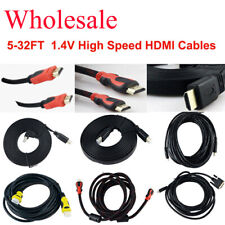 5-32FT M/M 1.4V High Speed Gold Plated 1080P HDMI Cable For BLURAY 3D HDTV DVD