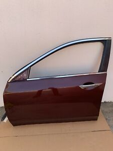 2009 2010 2011 2012 2013 2014 ACURA TSX FRONT LEFT DRIVER DOOR SHELL OEM