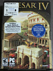 Caesar Iv - Box Pc Computer Game Discs, Key (rome, Roman Empire Video Game)