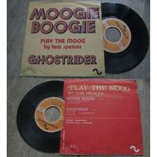 TOM SPENCER - Moogie Boogie / Ghostrider French PS 7' Electroc Groove 73'