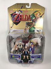 Legend Zelda Ocarina Time Impa Princess Horse Toybiz New Rare Action Figure N64