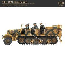 1:32 21st Century Toys Ultimate Soldier WWII German Army Halftrack Hauler Kfz. 7