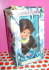 MONCICCI' Moncichi  Monchichi - Flips+Flaps 80s Italy ko puppet pupazzo doll