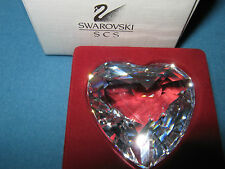 Swarovski Crystal Heart SCS Clear-with original packaging-Like New!