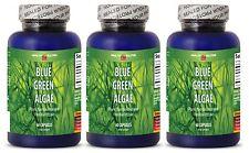 Pure Blue Green Algae from Klamath Lake Antioxidant (3 Bottles)