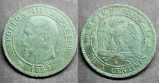 Napoléon III, 2 centimes 1857 B, TB