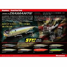 Megabass DOG-X DIAMANTE RATTLE Wank Has II 34928 F/S from JAPAN