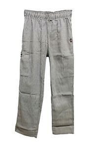 BRAND NEW DICKIES MENS CHECKERED CHEF PANTS