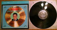 ELVIS PRESLEY ~ Elvis' Golden Records Vol 3 LSP-2765 Stereo Vinyl Record Lp 1963