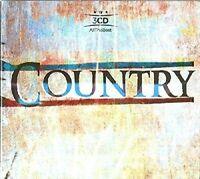 ALL THE BEST COUNTRY (DOLLY PARTON, JOHNNY CASH, JIM REEVES, ...) 3 CD NEU