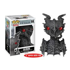 "SKYRIM THE ELDER SCROLLS V ALDUIN 6"" POP VINYL FIGURE FUNKO OVERSIZED"