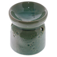 Small Green Butterfly Wax Warmer/Burner & pack of 10 Handpoured Scented Melts