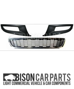 FITS VW POLO 6R 2009-2014 NEW FRONT BUMPER LOWER RIGHT CENTRE LEFT GRILL SET