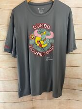 Men's Xl Disney Race Shirt Disneyland Marathon Dumbo Double Dare