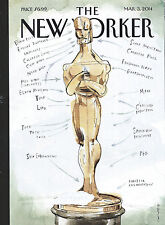 The New Yorker Magazine March 2014 Ready for His Closeup Putin Omar Hollywood