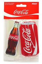 Coca Cola Coke 2D Hanging Car Air Freshener Freshner Scent Smell - Bottle & Can