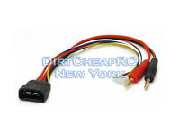 Battery Charger Charging Cable: 4S TRAXXAS ID LiPo to 4mm Bullet Banana & JST-XH