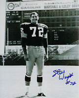 1960's PACKERS Steve Wright signed 8x10 photo w/ #72 AUTO Autographed Green Bay