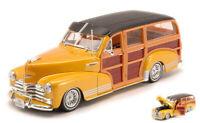Coche Auto Escala 1:24 Welly Chevrolet Bel Air diecast miniaturas