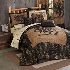 Browning 3D Buckmark 8 Pc Queen Comforter Set - Hunting Deer Cabin Logo
