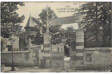 France 1920s Le Parc St-Maur Stade Olympique entrance unused