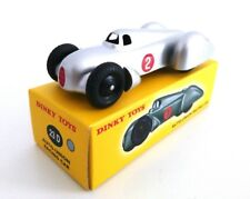AUTO UNION RACING CAR GRISE - DINKY TOYS - NOREV  VOITURE MINIATURE - 23D