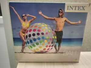 """New giant inflatable beach ball 72"""" by Intex"""