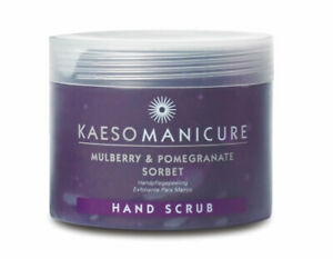 Kaeso Manicure - Mulberry & Pomegranate Sorbet Hand Scrub 450ml