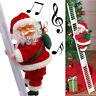 Electric Climbing Ladder Santa Claus Christmas Xmas Music Party Decor Kids Toy