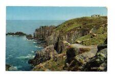 Cornwall - Land's End - Postcard Franked 1962
