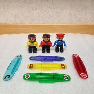 Lego Duplo Intelli Codesteine Lokführer Tunnel Bahnhof Tanken  Wählbar