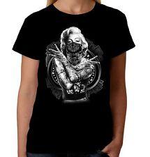 Velocitee Ladies T-Shirt Marilyn Monroe Outlaw Pop Art Movie Star A18519