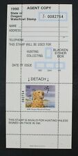 Ckstamps: Us State Duck Stamps Collection Mint Nh Corner Lightly Crease