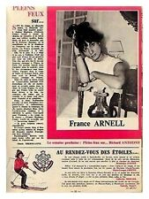 1964 : Document (Ref LIS 24) : chanteuse FRANCE ARNELL   (1 page)