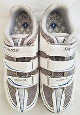 Specialized Spirita Touring Women's Shoe, White/Blue, 36 Eu / 5.75 Us