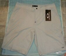 Oakley Ohydrolix Performance Golf/Casual shorts gray pattern 32W regular fit