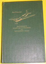 RARE Baughman's Aero-Thesaurus 1942 Aviation Dictionary & Reference Guide See!