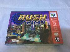 San Francisco Rush 2049 Nintendo 64, 2000 Nintendo 64 N64 Brand New