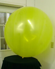 Tilly Two Pack Giant Yellow 5 foot Diameter Globe Shaped Balloon 2-60Y