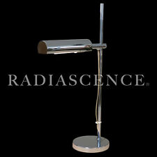 KOCH LOWY SPACE AGE ATOMIC MODERN CHROME DESK TABLE LAMP 1960s GEORGE NELSON CSS